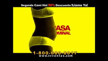 Hot Shapers Cami Hot TV Spot, 'Gorditos en el cuerpo' [Spanish] - Thumbnail 1