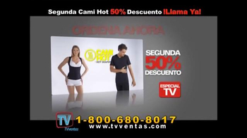 Hot Shapers Cami Hot TV Spot, 'Gorditos en el cuerpo' [Spanish]