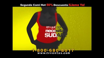 Hot Shapers Cami Hot TV Spot, 'Gorditos en el cuerpo' [Spanish] - Thumbnail 2