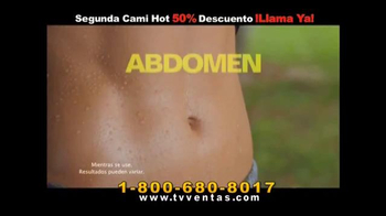 Hot Shapers Cami Hot TV Spot, 'Gorditos en el cuerpo' [Spanish] - Thumbnail 3