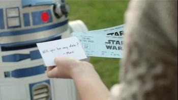 Hewlett-Packard Star Wars Notebook TV Spot, 'Reinvent Romance With R2-D2' - Thumbnail 5