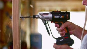 Worx Switchdriver TV Spot, 'Twice as Fast'