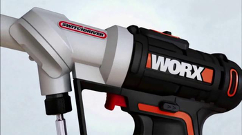 Worx Switchdriver TV Spot, 'Twice as Fast' - Thumbnail 2