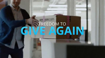 Chase Freedom TV Spot, 'Amazon: More Fun Out of the Holidays' - Thumbnail 2