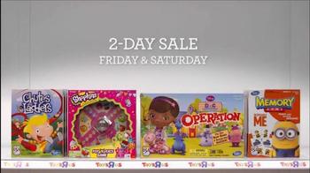 Toys R Us 2-Day Sale TV Spot, 'Playback Mode' - Thumbnail 6