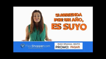 FlexShopper TV Spot, 'Pagos semanales' [Spanish] - 33 commercial airings