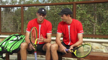 Tennis Warehouse TV Spot, 'Bryan Brothers Talk About Natural Gut String' - Thumbnail 9