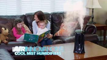 Air Innovations Cool Mist Humidifiers TV Spot, 'Clean and Healthy' - Thumbnail 5