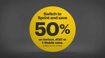 Sprint LTE Plus TV Spot, 'The Biggest Deal in U.S. Wireless History' - Thumbnail 5