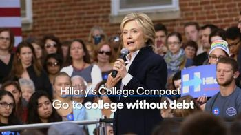 Hillary for America TV Spot, 'Compact' - 3 commercial airings