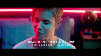 Justin Bieber: Purpose World Tour TV Spot - Thumbnail 5
