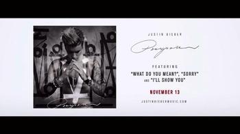 Justin Bieber: Purpose World Tour TV Spot - Thumbnail 6