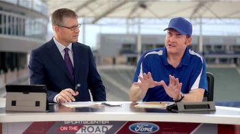 2016 Ford Explorer TV Spot, 'College Football Playoff' Feat. David Koechner - 15 commercial airings