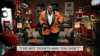 Fandango TV Spot, 'Miles Mouvay: Ticket Dance' Featuring Kenan Thompson - 146 commercial airings