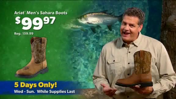 Bass Pro Shops Thanksgiving 5-Day Sale TV Spot, 'Flashlights and Boots' - Thumbnail 8