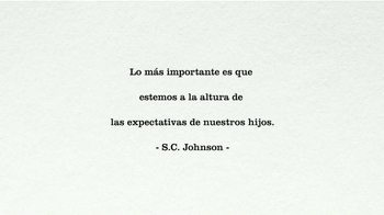 S.C. Johnson & Son TV Spot, 'Great Expectations' [Spanish] - Thumbnail 1
