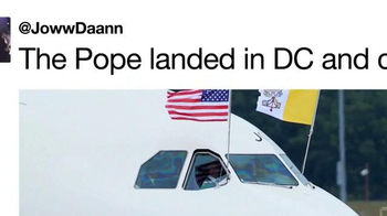 Twitter TV Spot, 'Pope's Visit' Song by Tkay Maidza - Thumbnail 2