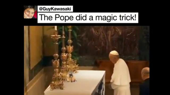 Twitter TV Spot, 'Pope's Visit' Song by Tkay Maidza - Thumbnail 4