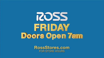 Ross TV Spot, 'Thanksgiving Weekend' - Thumbnail 3
