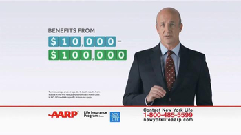 New York Life AARP Term Life Insurance TV Spot, \'Surprised?\'