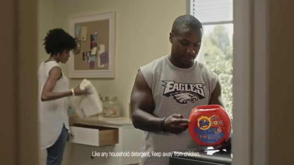 Tide Pods TV Commercial, 'Small but Powerful' Featuring Darren Sproles