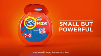 Tide Pods TV Spot, 'Small but Powerful' Featuring Darren Sproles - Thumbnail 10
