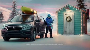 Honda Happy Honda Days Sales Event 2016 CR-V TV Spot, 'Skier' - 734 commercial airings