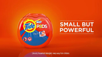 Tide Pods TV Spot, 'Small but Powerful' Featuring Cole Beasley - Thumbnail 9