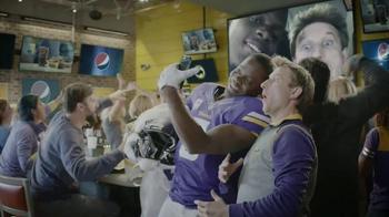 Pepsi TV Spot, 'NFL: Selfie' Featuring Teddy Bridgewater - 1776 commercial airings