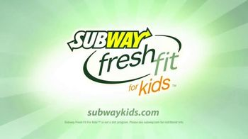 Subway Fresh Fit for Kids Meal TV Spot, 'Disney Channel: Star Wars' - 141 commercial airings