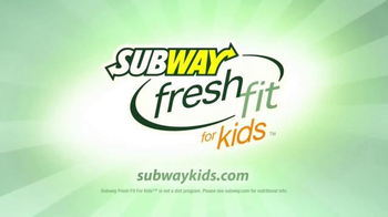Subway Fresh Fit for Kids Meal TV Spot, 'Disney Channel: Star Wars'