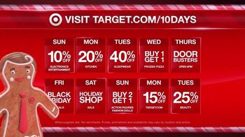 Target TV Spot, '10 Day Deal Forecast: Lights, Cameras, Coffee Makers'