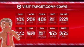 Target TV Spot, '10 Day Deal Forecast: Lights, Cameras, Coffee Makers' - 601 commercial airings