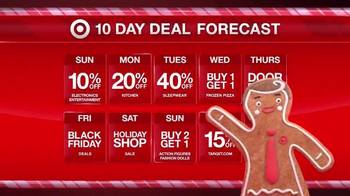 Target TV Spot, '10 Day Deal Forecast: Lights, Cameras, Coffee Makers' - Thumbnail 4