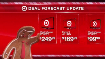 Target TV Spot, 'Deal Forecast Update: Record Low HDTV Prices' - Thumbnail 2