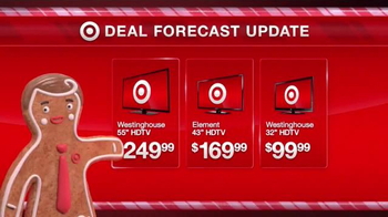 Target TV Spot, 'Deal Forecast Update: Record Low HDTV Prices' - Thumbnail 4