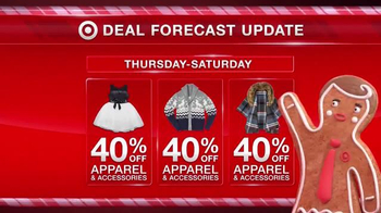 Target TV Spot, 'Deal Forecast Update: Apparel Prices Dropping' - Thumbnail 2