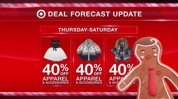 Target TV Spot, 'Deal Forecast Update: Apparel Prices Dropping' - Thumbnail 3