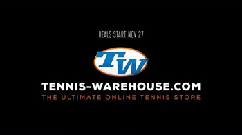 Tennis Warehouse Black Friday TV Spot, 'Are You Ready' - Thumbnail 7