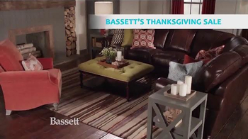 Bassett's Thanksgiving Sale TV Spot, 'Chairs, Recliners, and Bedroom' - Thumbnail 4