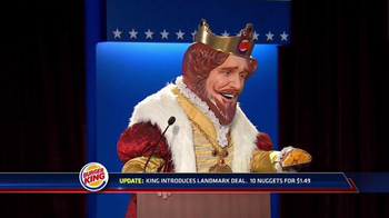 Burger King Chicken Nuggets TV Spot, 'Debate Reaction' - Thumbnail 3