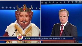 Burger King Chicken Nuggets TV Spot, 'Debate Reaction' - Thumbnail 4