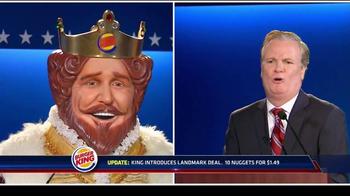 Burger King Chicken Nuggets TV Spot, 'Debate Reaction' - Thumbnail 6