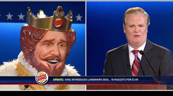 Burger King Chicken Nuggets TV Spot, 'Debate Reaction' - Thumbnail 7
