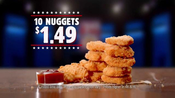 Burger King Chicken Nuggets TV Spot, 'Debate Reaction' - Thumbnail 8