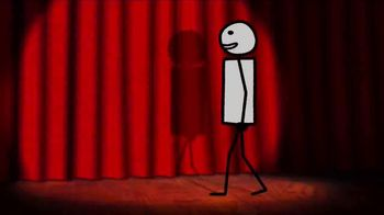 Jolly Rancher TV Spot, 'Adult Swim: Stick Figure Musical Audition'