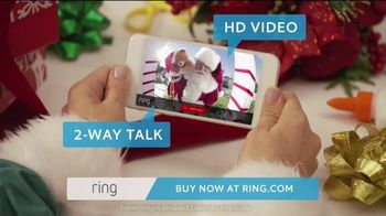 Ring TV Spot, 'Ring for the Holidays' - 861 commercial airings