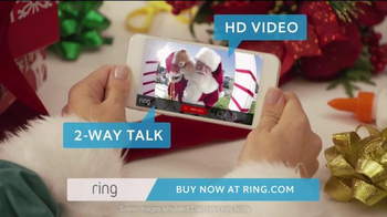 Ring TV Spot, 'Ring for the Holidays 2015' - 861 commercial airings