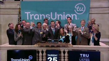 New York Stock Exchange TV Spot, 'TransUnion'