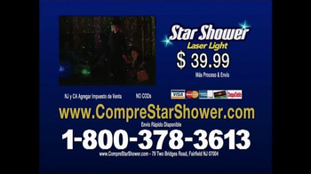 Star Shower Laser Light TV Spot, 'Luces de Navidad' [Spanish] - Thumbnail 10